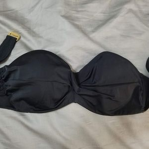 Black Victoria Secret Swim Bandeau Top